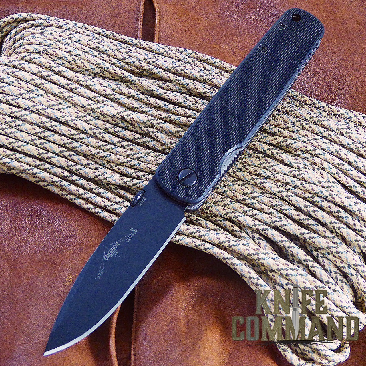 Emerson A100 SF Tactical Folding Knife 154CM.   Symmetry, Grace, and Power.
