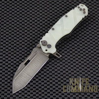 Wander Tactical Custom Hurricane Extreme Duty Folding Knife.  Custom blade and Jade G10 handles.