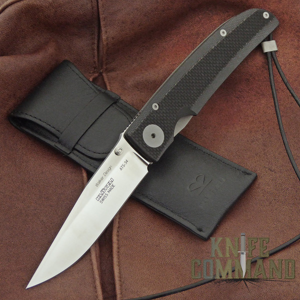 Klotzli Knives Michael Walker 03 Tactical Folding Knife Black WALK-03-TAC-C.  Tactically civilized.