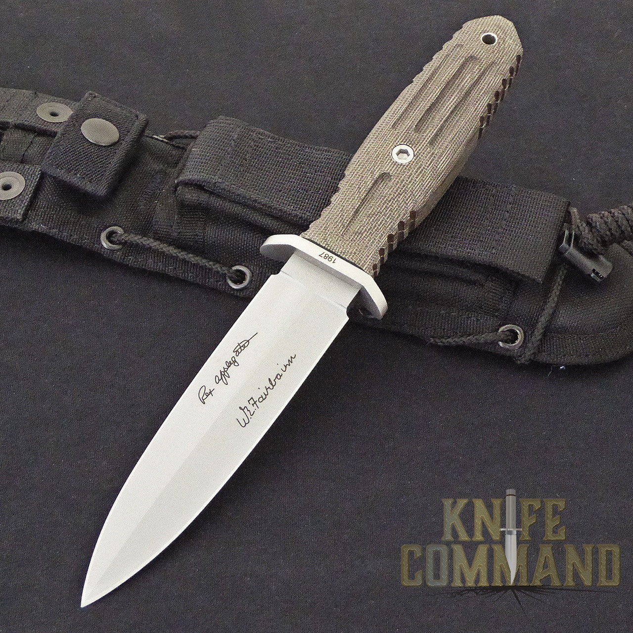 Boker Applegate Fairbairn A F 5 5 Harsey Combat Knife