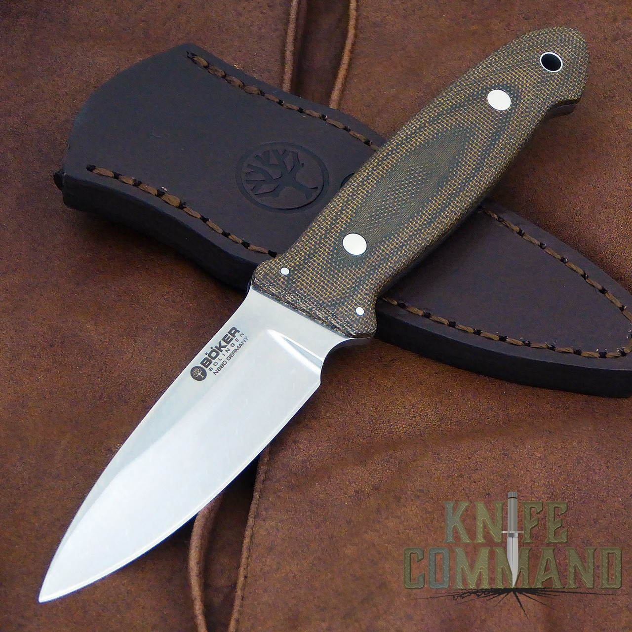 Boker Cub Lucas Burnley EDC Fixed Blade Knife 120661.   A beautiful custom collaboration.