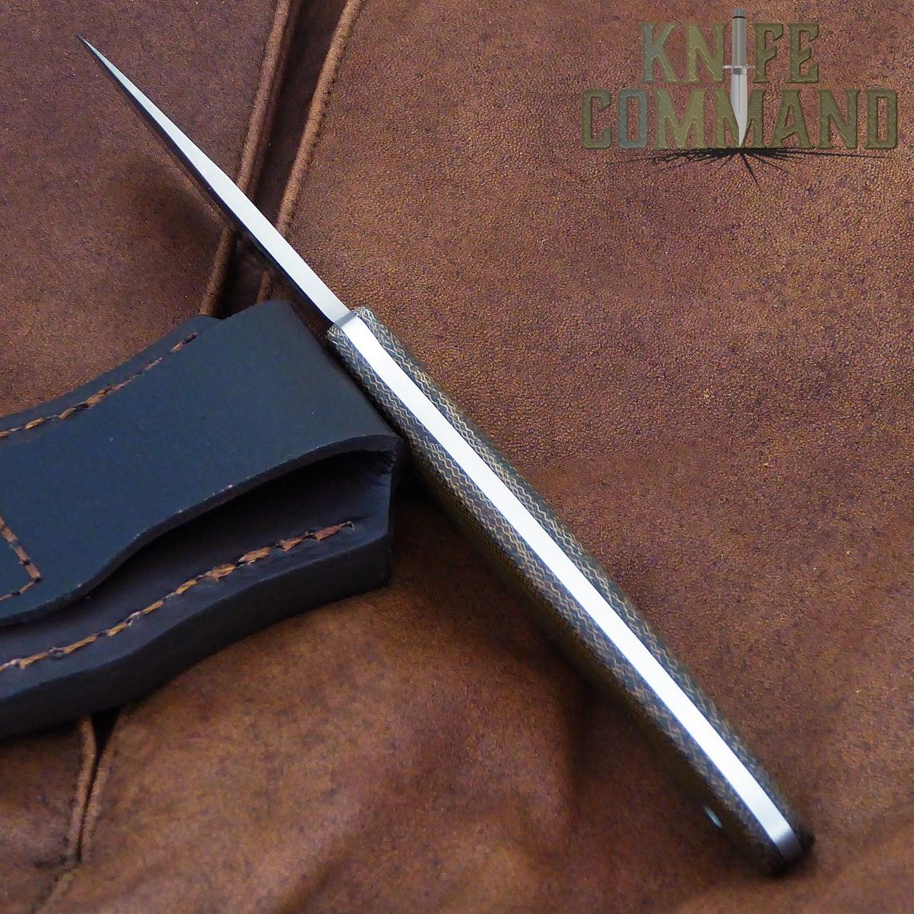 Boker Cub Lucas Burnley EDC Fixed Blade Knife 120661.   Slim design won't slow you down.