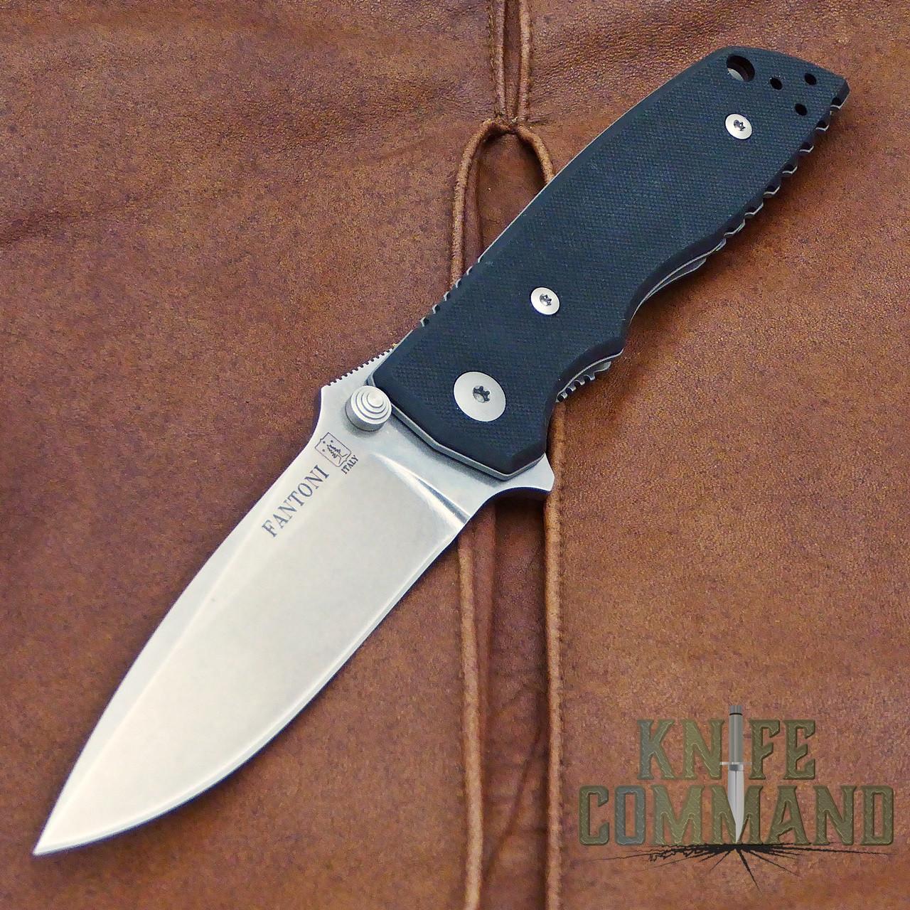 Fantoni HB 01 William Harsey Combat Folder Tactical Knife S30V.  The Classic combat knife.