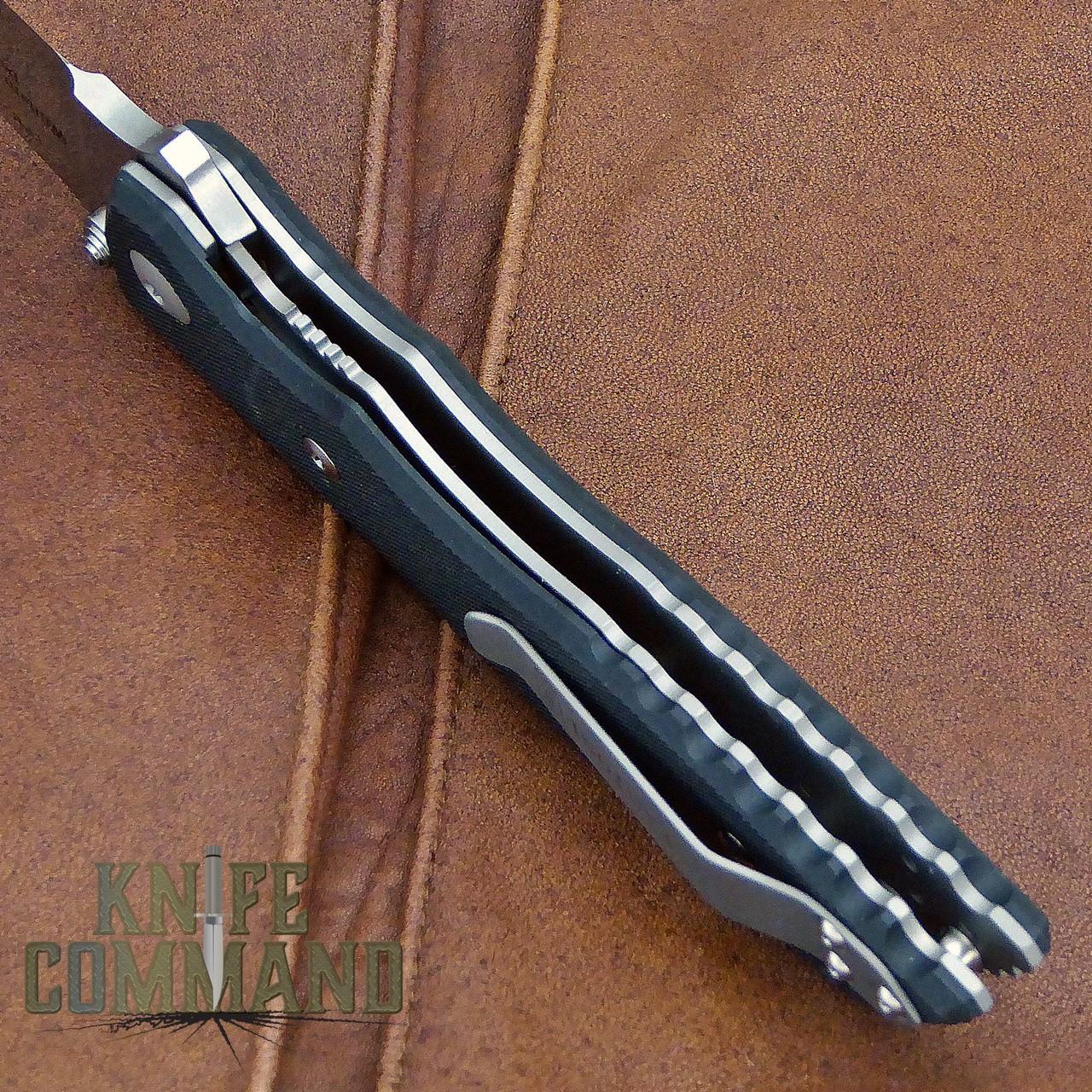 Fantoni HB 01 William Harsey Combat Folder Tactical Knife S30V.  Titanium liner and liner lock.