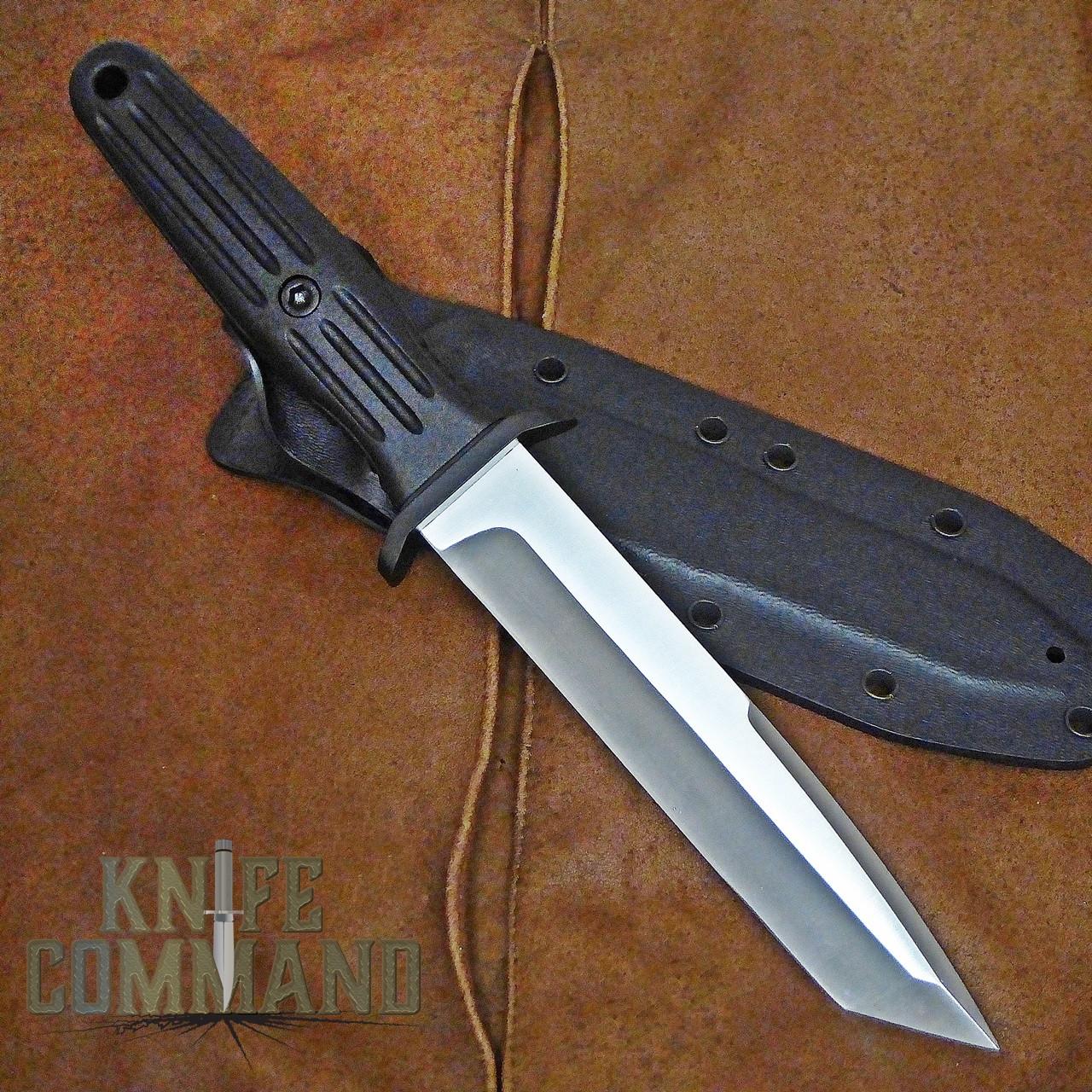 BOKER SPECIAL RUN APPLEGATE TANTO KS FIXED BLADE KNIFE 125543.  154CM steel.