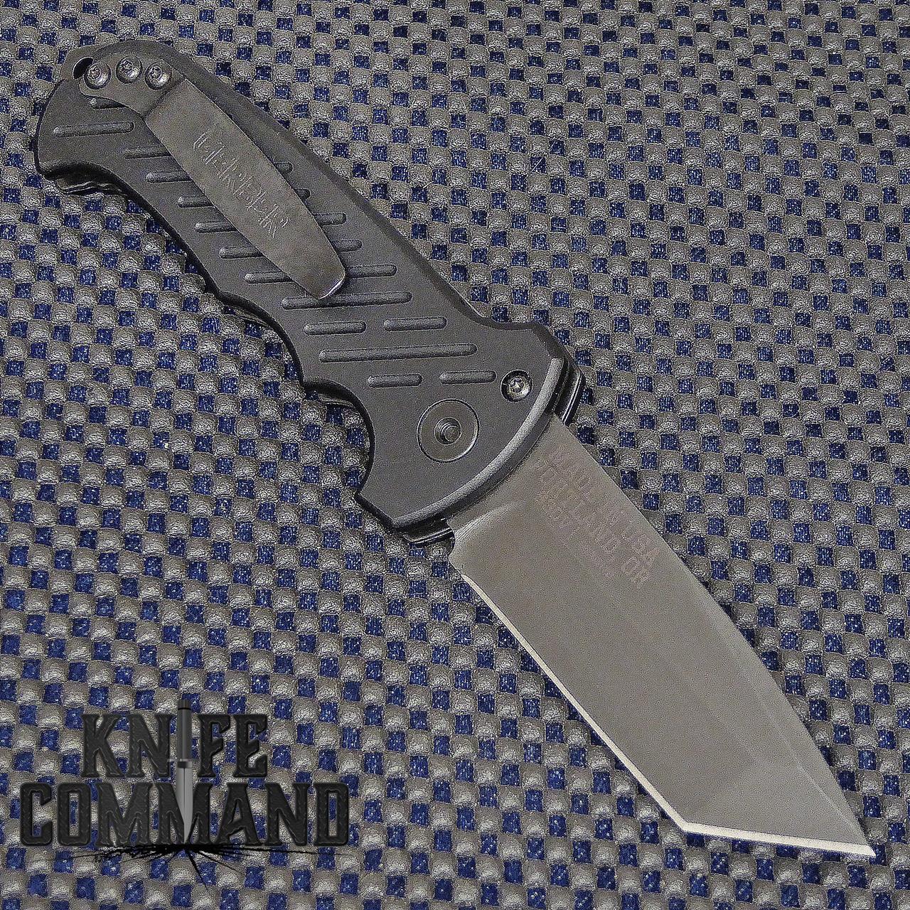 Gerber 06 Auto Tanto Blade Automatic Knife Plain Edge 30-001297.  S30V blade.