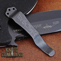 Emerson Knives We the People Replacement Pocket Clip.  Black finish.