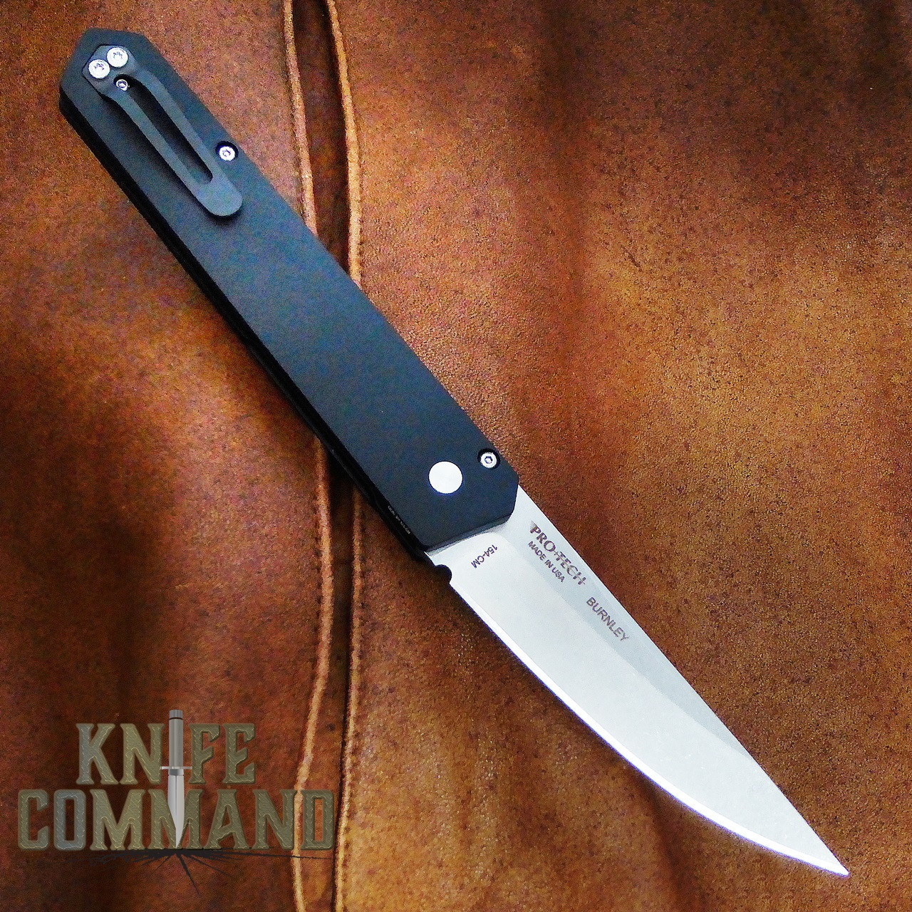 Boker Pro-Tech Burnley Kwaiken Automatic Knife Stonewash 06EX291.  Pro-Tech automatic engineering.
