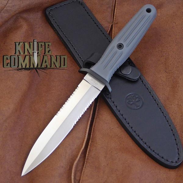 "BOKER APPLEGATE FAIRBAIRN ""VINTAGE"" FIXED BLADE KNIFE 123543.  Boker's nod of appreciation of Gerber's 1967 Mark 2."