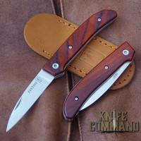 Fantoni Dweller Cocobolo S Italian Made Slip-joint EDC Pocket Knife.  Top quality Cocobolo handles.