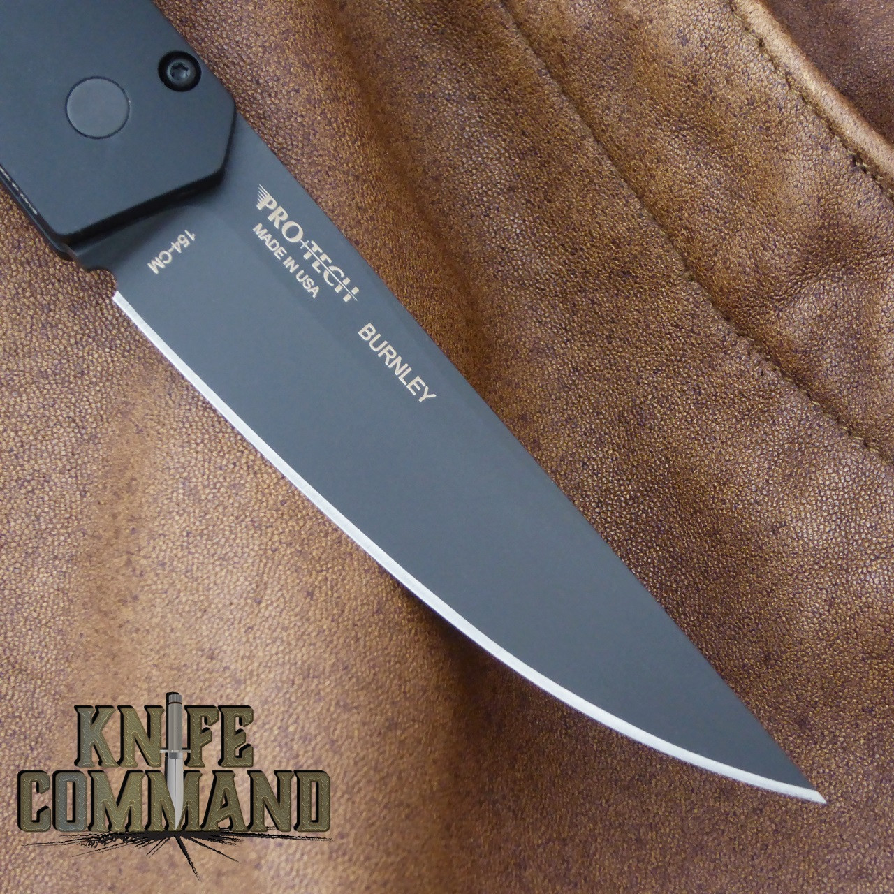 Boker Pro-Tech Burnley Kwaiken Automatic Knife Black Out 06EX292.  Black DLC 154CM stainless steel.