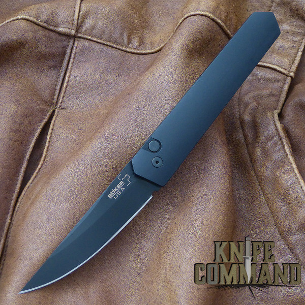 Boker Pro-Tech Burnley Kwaiken Automatic Knife Black Out 06EX292.  Lucas Burnley design.
