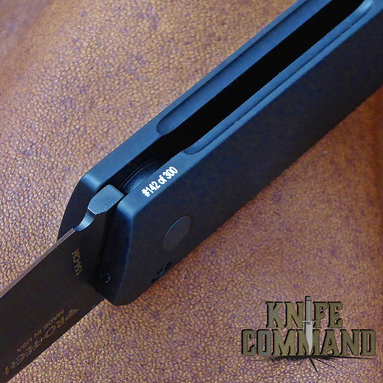 Boker Pro-Tech Burnley Kwaiken Automatic Knife Black Out 06EX292.  Individually serial numbered.