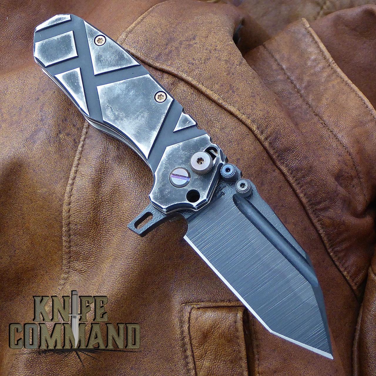 Black Gunkote blade.