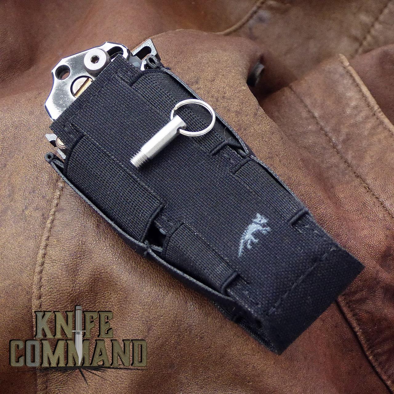 Knife, Tatonka sheath, and lock pin included.