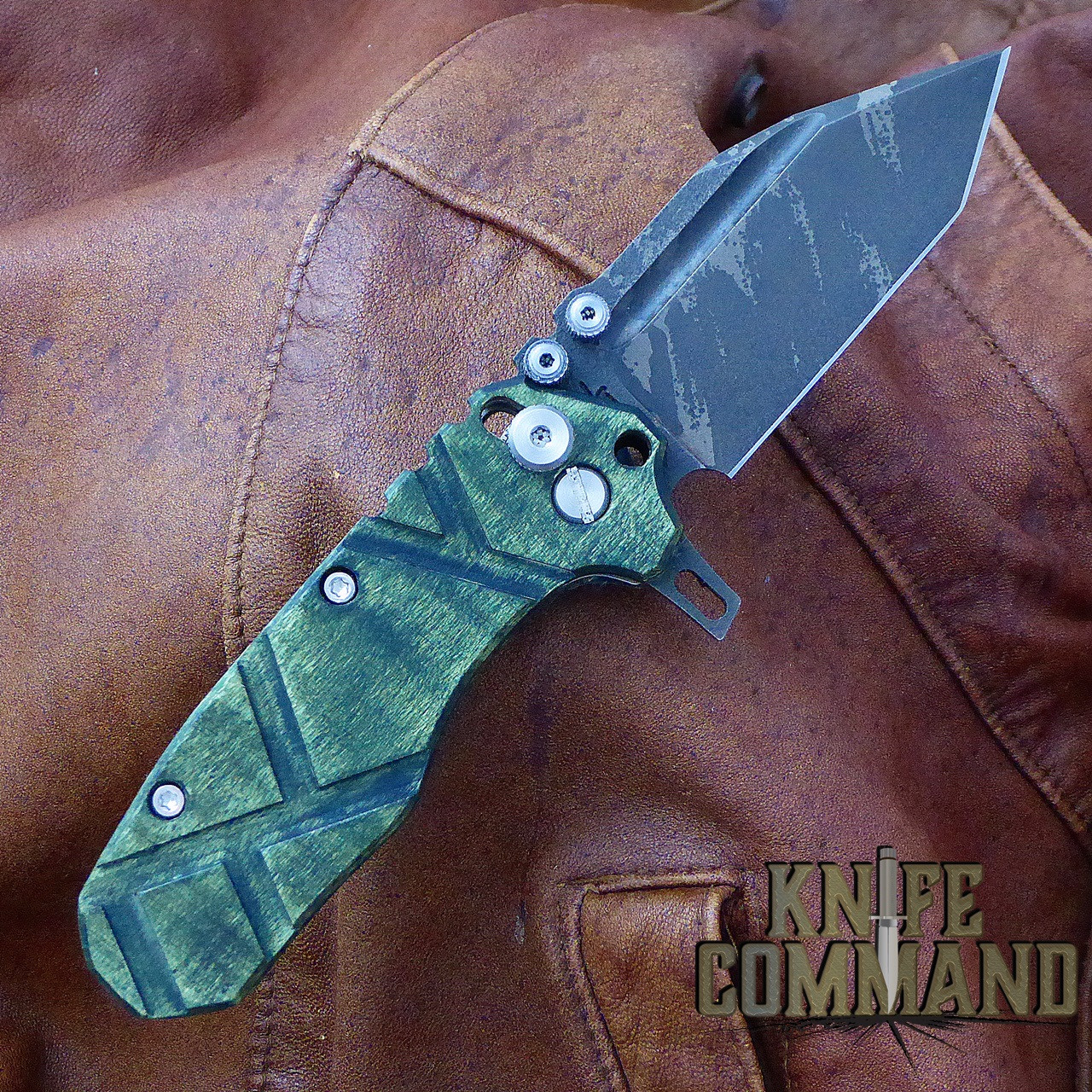 Custom Ice Brush Gunkote blade.