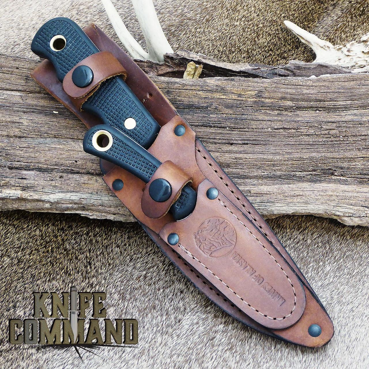 Knives Of Alaska Bush Camp Muskrat Suregrip Hunting Knife