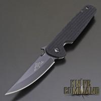 Black blade.