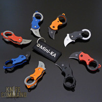Fox Knives Mini-Ka Miniature Folding Karambit Keychain Knife