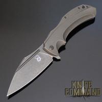 Black Stonewash Elmax blade.