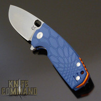 Fox Knives Vox Core FX-604BL Folding Knife Blue with Stonewash Blade