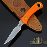 Knives of Alaska Cub Bear Blaze Orange Suregrip Hunting Caping Knife 00008FG