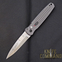 Gerber Covert Automatic Knife, Tactical Grey, Stonewash CPM-S30V, 30-001307