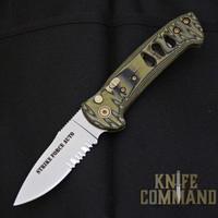 Knives of Alaska Strike Force Automatic Knife OD / Black Micarta 00915FG