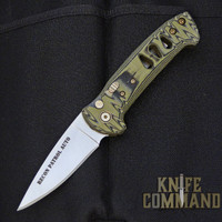 Knives of Alaska Recon Patrol Automatic Knife OD / Black Micarta 00920FG