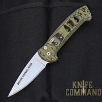 Knives of Alaska Recon Patrol Automatic Knife OD / Black Micarta 00920FG
