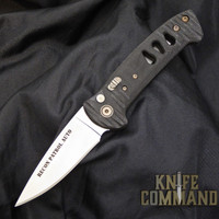 Knives of Alaska Recon Patrol Automatic Knife Black Micarta 00921FG