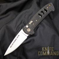Knives of Alaska Recon Patrol Automatic Knife Black Micarta 00921FG