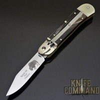 Hubertus Solingen Limited Edition Buffalo Springer Automatic Knife Sprit of Our Nation