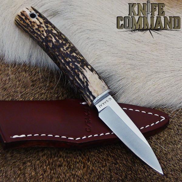 Nice stag handle.