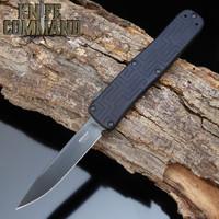 Boker Plus USA OTF Automatic Knife Black Out 06EX263 Hogue Knives