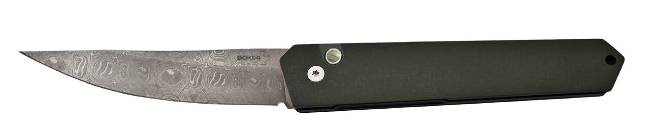 Boker Pro-Tech Burnley Virus Damascus Kwaiken Automatic Knife 06EX293DAM
