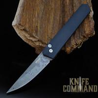 Boker Pro-Tech Burnley Nichols Virus Damascus Kwaiken Automatic Knife 06EX293DAM