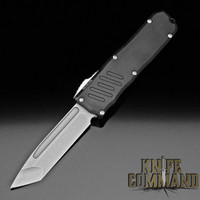 Guardian Tactical Recon-035 Tanto OTF Automatic Knife Black and Stonewash 93521