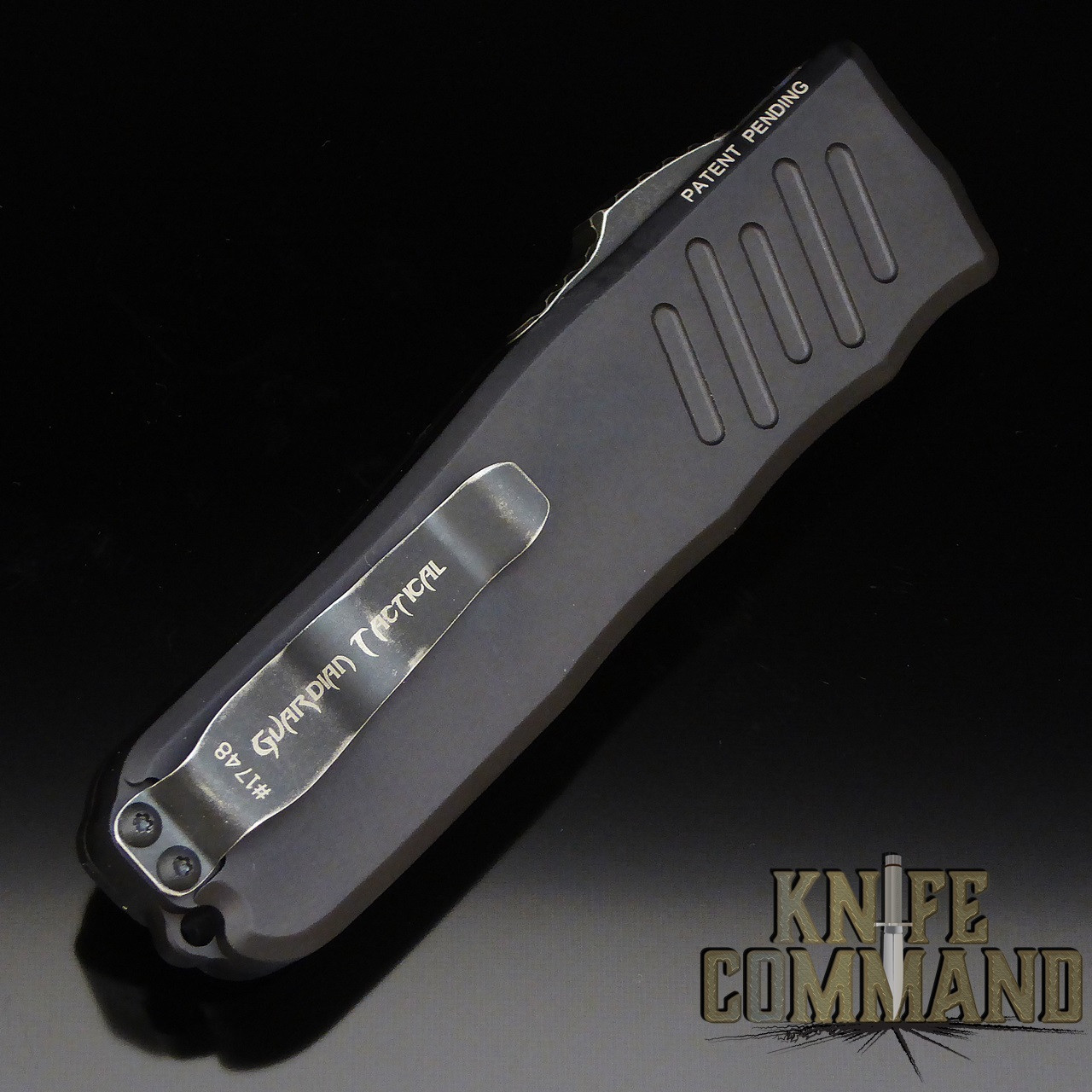Guardian Tactical Recon-035 OTF Automatic Knife Black Stonewash 93621
