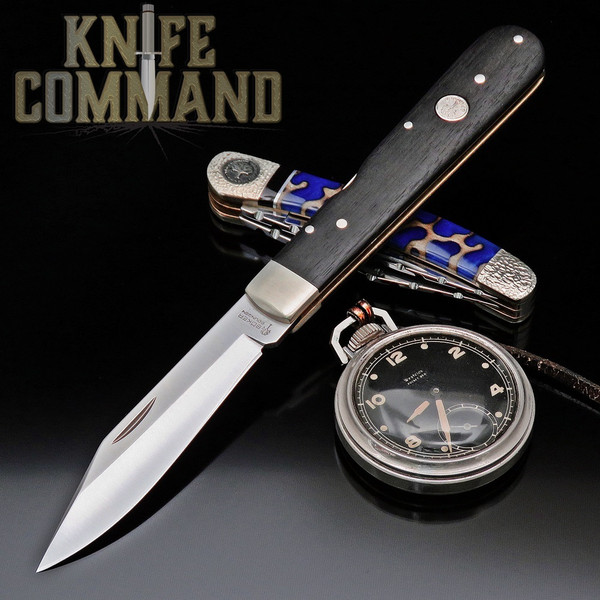 Boker Model 113024 Classic Ebony 1906 Lockback Pocket Knife