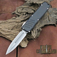Guardian Tactical Recon-035 Double Edge OTF Automatic Knife Stonewash 93531