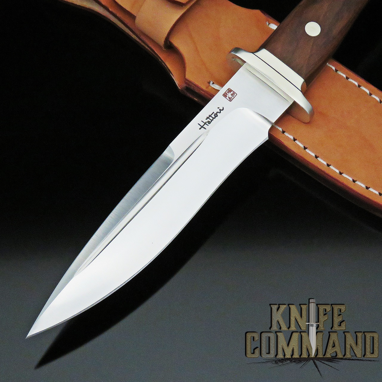 Hattori Knives FT-100C Fighter Knife Cocobolo Wood