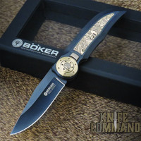 Boker Special Run Tucan Eclipse Pocket Knife Wilfried Gorski 112652