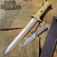 Eickhorn Solingen Waidbesteck Boar Hunter Para 2 GS 2-Knife Set 825251WBCPBR US Tan Blade Coyote Handle