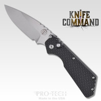 Pro-Tech Knives 2305 Pro-Strider PT Automatic Knife Folder Knurled Handle 154-CM Blade
