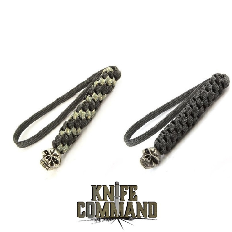 Schmuckatelli Emerson Knives Skull Knife Lanyard