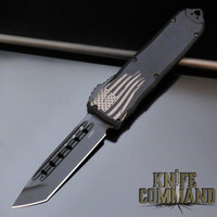 Guardian Tactical Recon Elite Tanto OTF Automatic Knife Black Elmax 103121