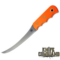 Knives of Alaska Coho Blaze Orange Fishing Fillet Knife 00087FG