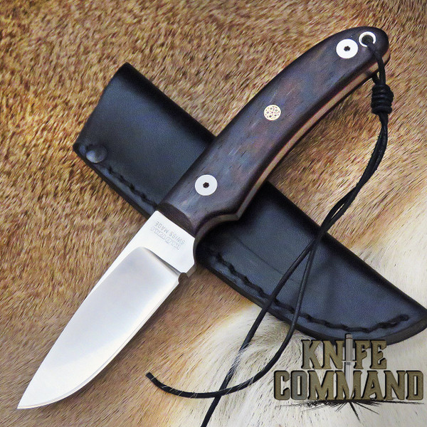 Klotzli Knives Rare Model 14 Wenge Wood Fixed Blade Knife