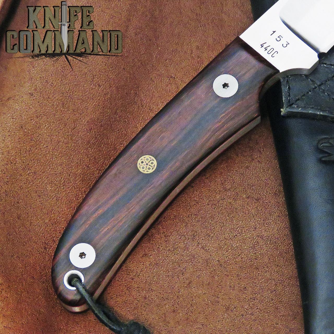 Klotzli Knives Rare Model 14 Hunter Desert Ironwood Fixed Blade Knife